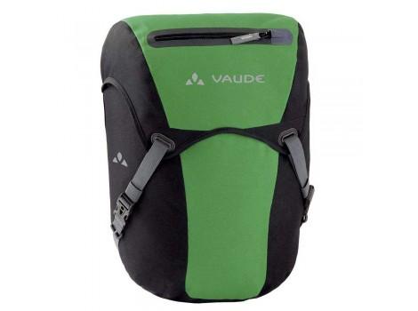 Sacoche vélo voyage Vaude Discover Pro Front 10219 - Noir vert