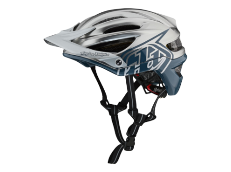 Casque VTT Troy Lee Designs A2 Mips Decoy Air Force Bleu/Gris