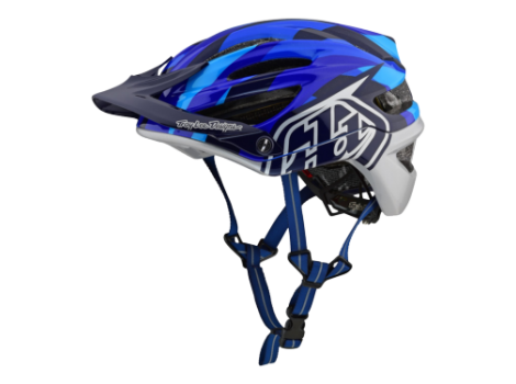 Casque VTT Troy Lee Design A2 Mips Jet Bleu