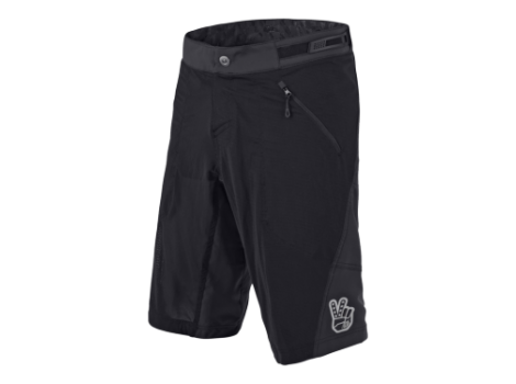 Short VTT Troy Lee Designs Skyline Air Solid Noir avec sous-short