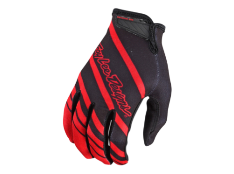 Gants vélo Troy Lee Designs Air Streamline Noir/Rouge
