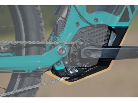Sabot protection moteur Bosch CX vélo Moustache CO-HK007 - Noir