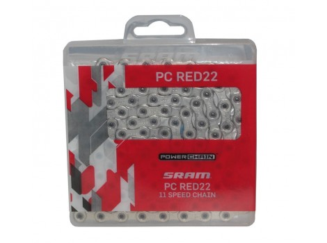 Chaîne Sram PC Red22 HollowPin - 11 vitesses