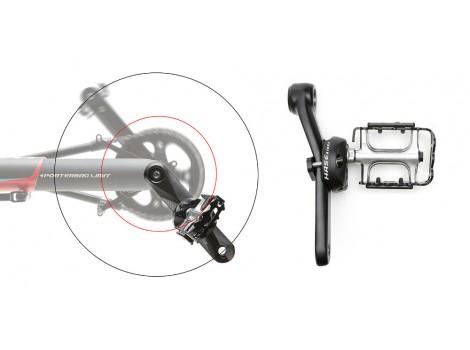 Réducteur de manivelle Hase Bikes Gauche - 26023.LE