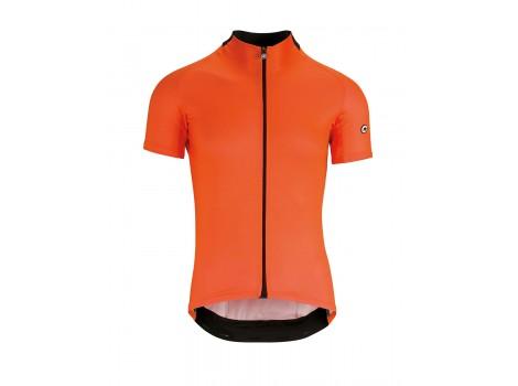 Maillot vélo Assos Mille GT manches courtes Orange