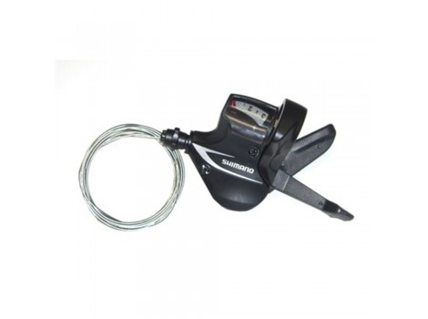Manette dérailleur Shimano SL-M360 Acera Rapidfire gauche 3 vitesses noire