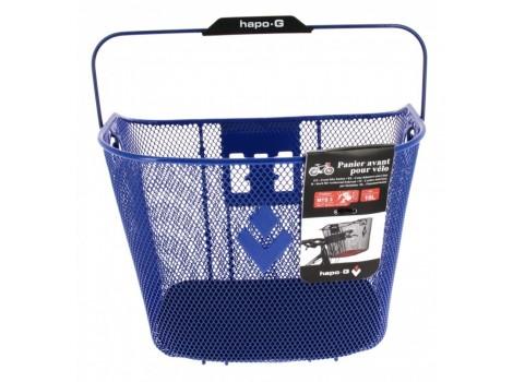 Panier avant Hapo-G metal bleu 19 litres - XXL