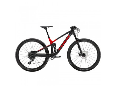 Vtt XC Trail Trek Top Fuel 8 noir rouge 2020