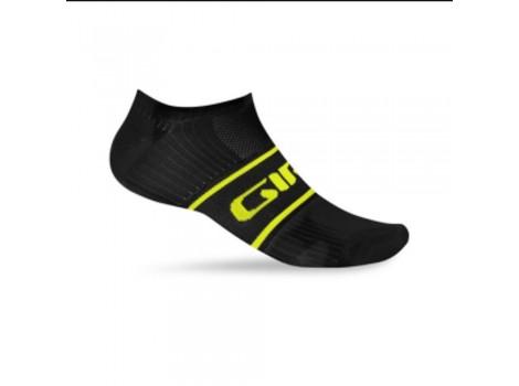 Chaussette Giro Comp Racer noir jaune