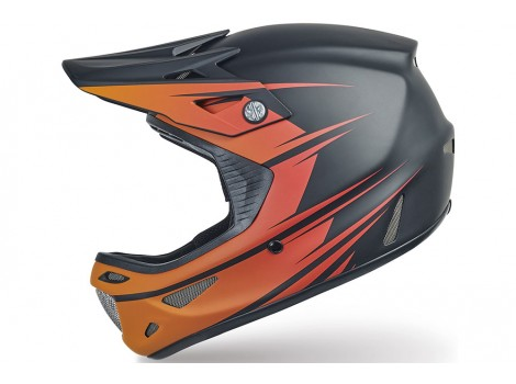 Casque VTT intégral Specialized Dissident Comp Orange/Rouge 2017