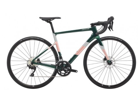 Vélo route femme Cannondale Super Six Evo Carbone Shimano 105 Disc - 2020