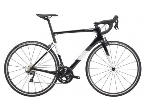 Vélo route Cannondale Super Six Evo Carbone Shimano 105 Disc Noir - 2020