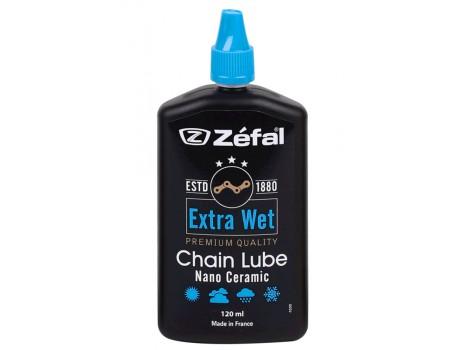 Huile chaîne vélo Zéfal Extra Wet Lub - 120 ml