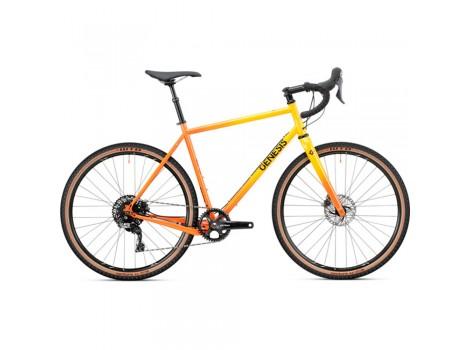 Vélo gravel Genesis Fugio 20 Orangé - 2020