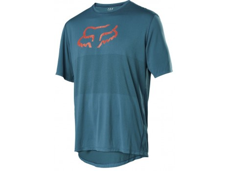T-shirt VTT Fox Ranger Maui Blue