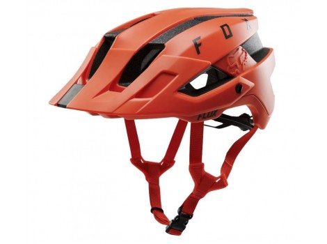 Casque VTT Fox Flux Orange Crush