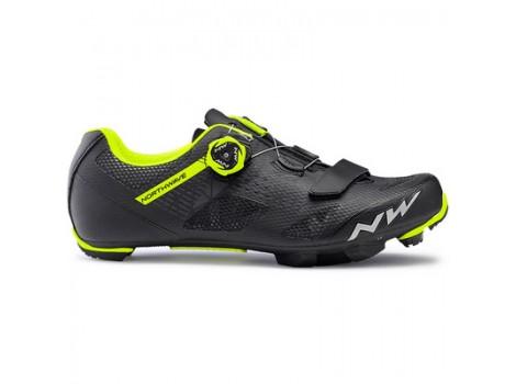 Chaussures VTT Northwave Razer Noir/Jaune