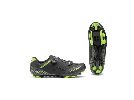 Chaussures VTT Northwave Origin+ Noir/Vert