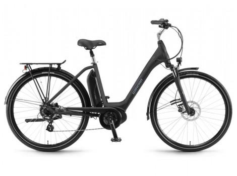 Vélo électrique Winora Bikes Sima 7 Bosch 300 Wh Noir - 2019