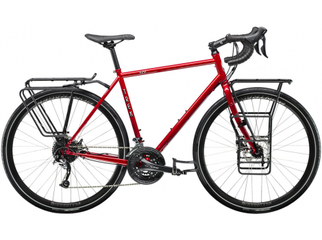 Vélo voyage Trek 520 Disc Rouge Diablo - 2020