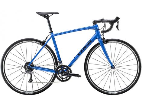Vélo route Trek Domane AL 2  Bleu Alpine mat  - 2020