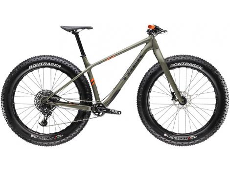 Fatbike Trek Farley 9.6 Gris olive mat - 2020