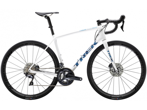 Vélo route Trek Emonda SLR 6 Disc Blanc Voodoo - 2020