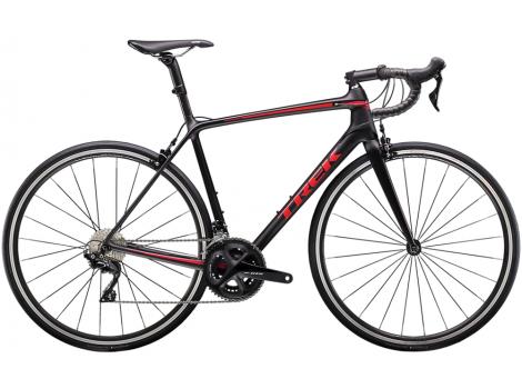 Vélo route Trek Emonda SL 5  Noir mat Rouge - 2020