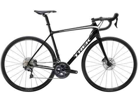 Vélo route Trek Emonda SL 6 Disc Noir Blanc - 2020