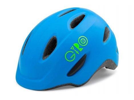Casque vélo enfant Giro Scamp bleu Mat - TU 45/49 cm - 2020