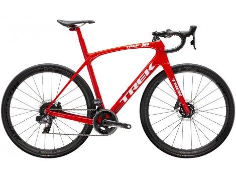 Vélo route Trek Domane SLR 7 eTap Rouge Blanc - 2020