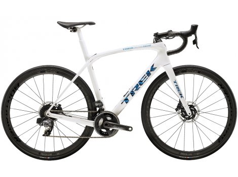 Vélo route Trek Domane SLR 7 eTap Blanc Voodoo - 2020