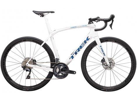 Vélo route Trek Domane SLR 6 Blanc Voodoo - 2020