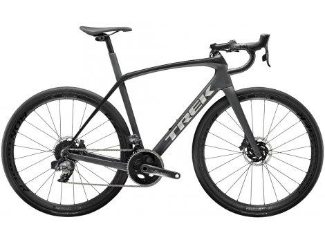 Vélo route Trek Domane SL 7 eTap  Gris Noir - 2020
