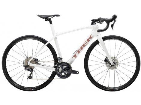 Vélo route Trek Domane SL 6 Blanc Crystal - 2020