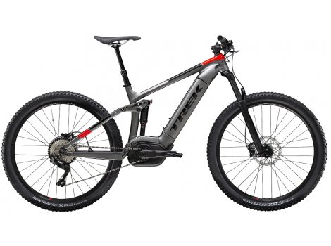 VTT électrique Trek Powerfly FS 5 500 Wh Gris anthracite - 2020