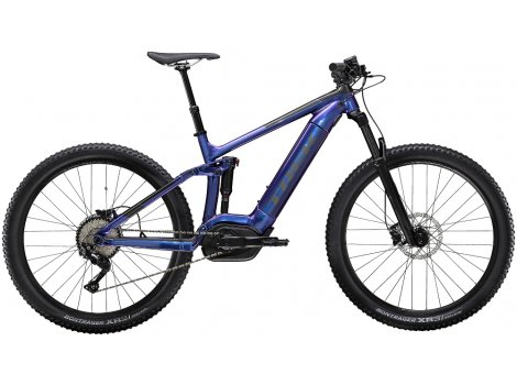 VTT électrique Trek Powerfly FS 5 500 Wh Purple Flip - 2020