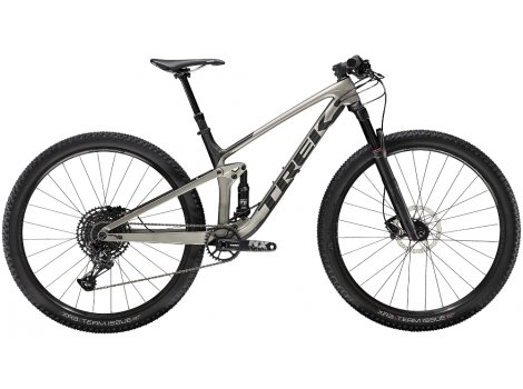 VTT Trek Top Fuel 9.7 Gris sendré  - 2020
