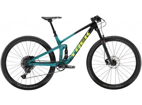 VTT Trek Top Fuel 9.7 Noir vert - 2020