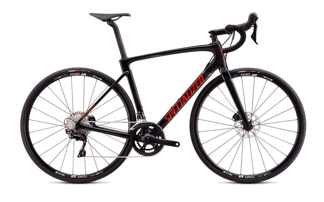 Vélo route Specialized Roubaix Sport Noir-Rouge - 2020