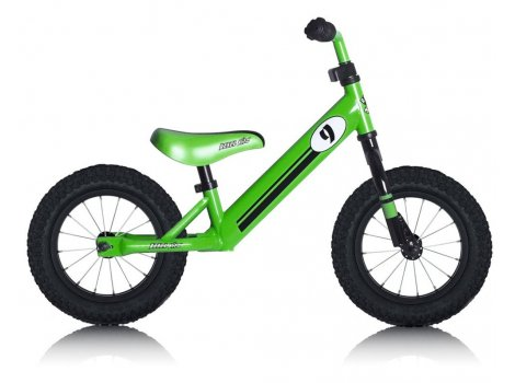 Draisienne Rebel Kidz Steel Air 12,5 - Vert