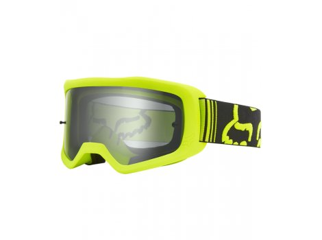 Masque vélo Fox Main Race Goggle Flo Jaune - 2020