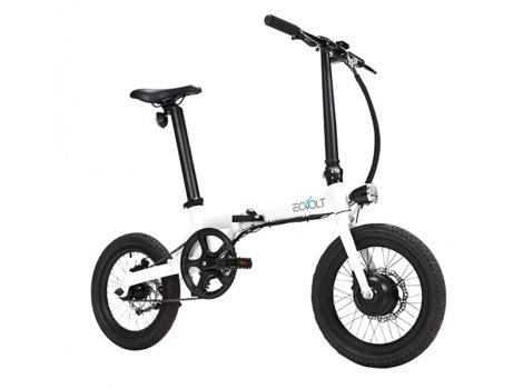 Vélo électrique pliant Eovolt 250 w - Blanc